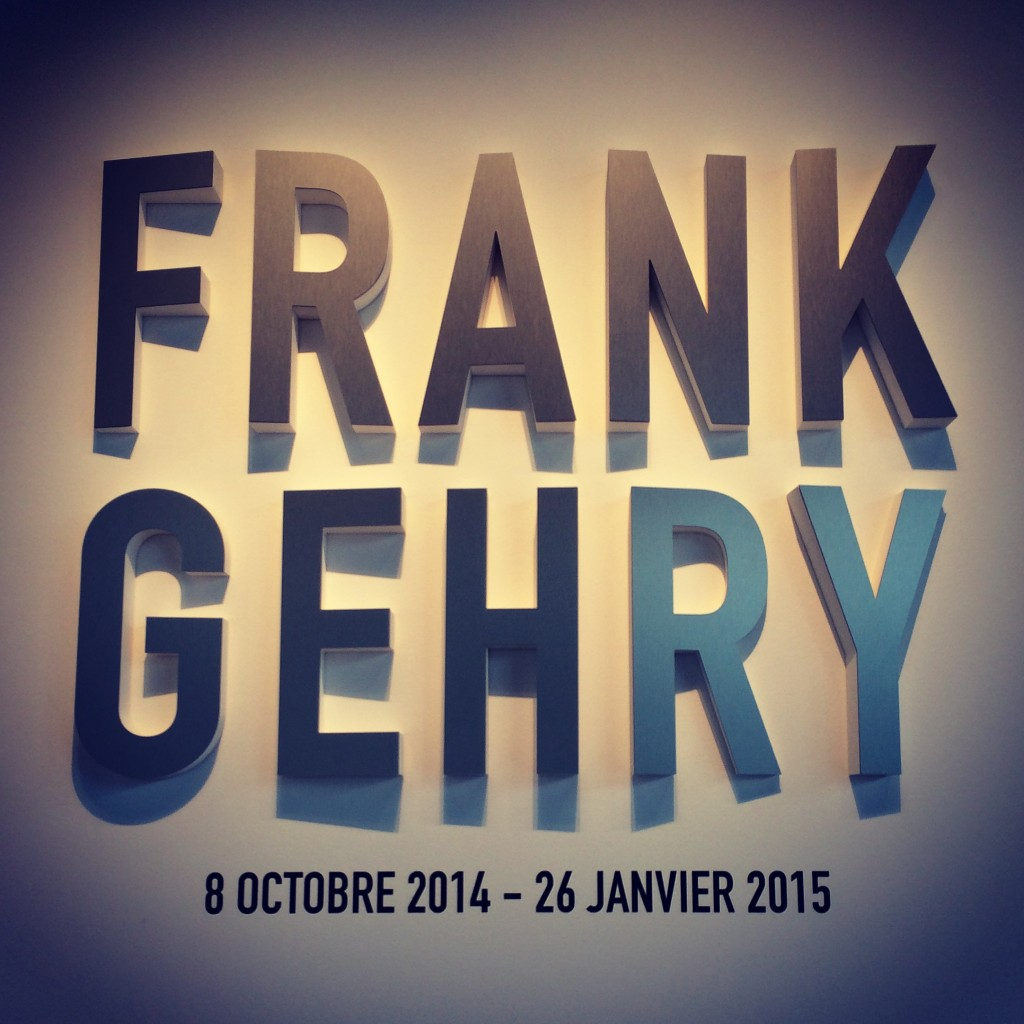 Frank Gehry expo